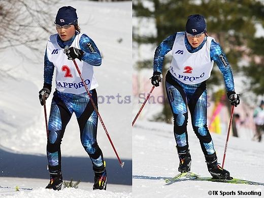 女子パシュート1位:石田正子(JR北海道スキー部)