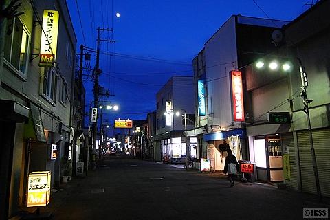 JR室蘭駅の近くの飲み屋街