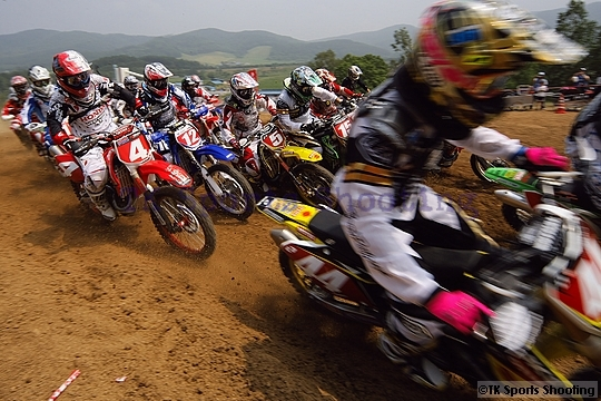 2008全日本モトクロス選手権シリーズ第6戦 北海道大会 IA1ヒート1