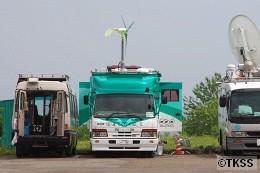 NHKのエコ制作車「エコロジア号」