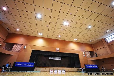 北翔大学体育館