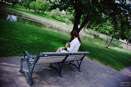 中島公園の朝