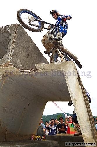 黒山健一 全日本トライアル選手権第4戦北海道大会
