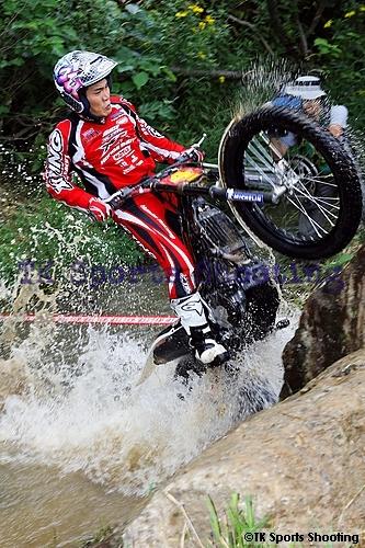 田中太一 全日本トライアル選手権第4戦北海道大会