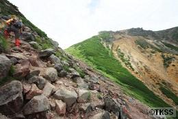 上ホロカメットク山登山