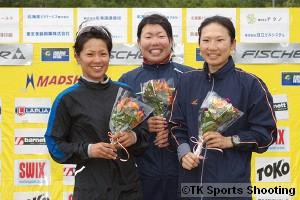 女子パシュート競技一般 12.5km