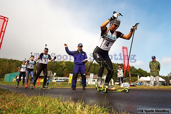 第20回サマーバイアスロン日本選手権大会 2日目