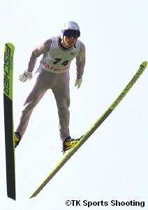 第2回伊藤杯サマーファイナル大倉山ジャンプ大会 男子優勝:伊東大貴