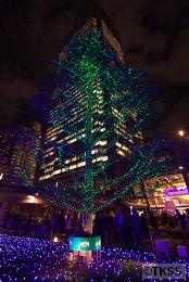 東京ミッドタウンのクリスマスイルミネーション