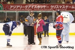 ASIA LEAGUE ICE HOCKEY2008-2009 X'mas Games in SAPPORO
