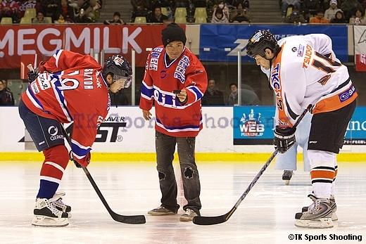 ASIA LEAGUE ICE HOCKEY2008-2009 X'mas Games in SAPPORO