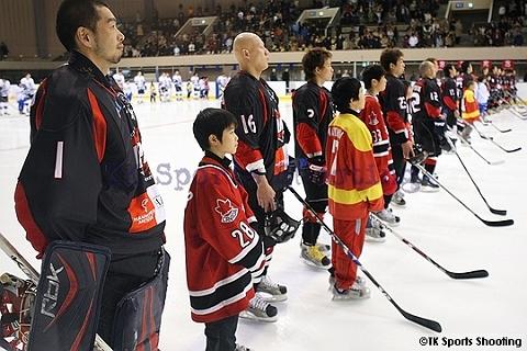 アイスホッケー日本代表vsロシア・アムール テストマッチ