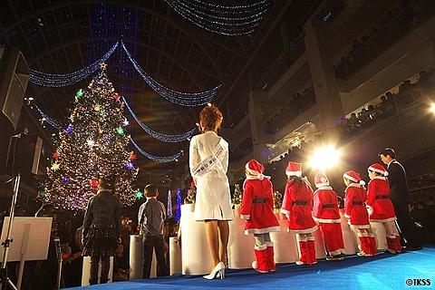 ジャンボクリスマスツリー点灯式