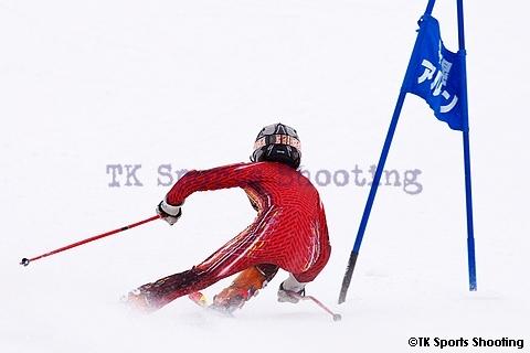 第21回札幌市スポーツ少年団冬季スポーツ交流大会ジャイアントスラローム競技