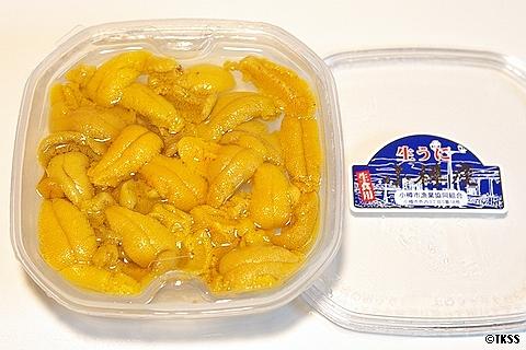 小樽産塩水ウニ