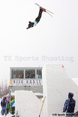 第29回全日本スキー選手権大会フリースタイル競技エアリアル種目