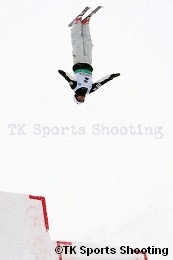 第29回全日本スキー選手権大会フリースタイル競技エアリアル種目 男子3位:水野 剣