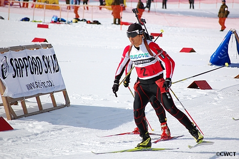 第45回バイアスロン競技全日本選手権大会2日目