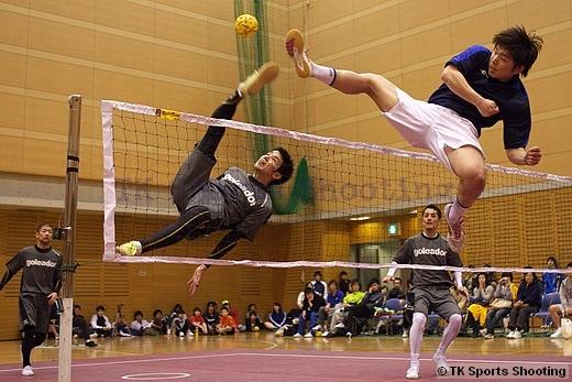 第12回北海道セパタクローオープン選手権大会 Div.1決勝戦 TAK-TAK A 対 八王子