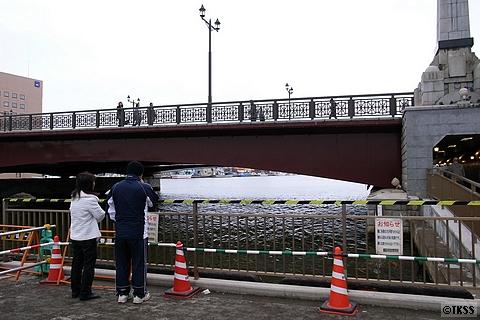 釧路川、幣舞橋