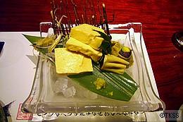 <向附>柚子湯葉豆富 天然本鮪とアボカドの京湯葉カリフォルニア生春巻