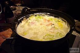 <強肴>比内地鶏の豆乳しゃぶしゃぶ