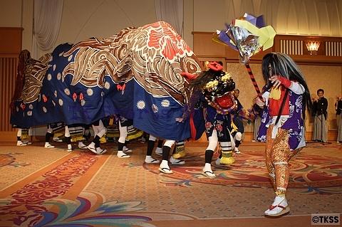 札幌市無形文化財 丘珠獅子舞