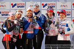 女子チームスプリント表彰式