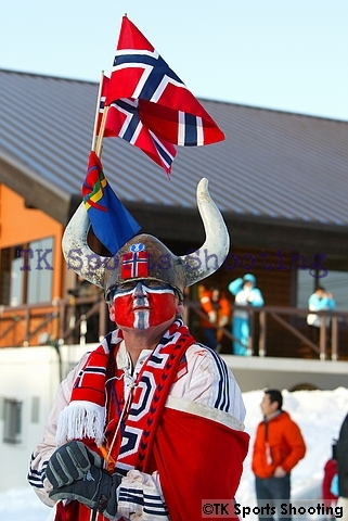 ノルウェー応援団