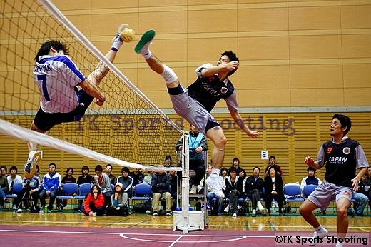 第10回北海道セパタクローオープン選手権大会 男子決勝戦 TAK-TAK A対八王子