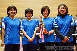女子優勝:武蔵野クロマニヨン