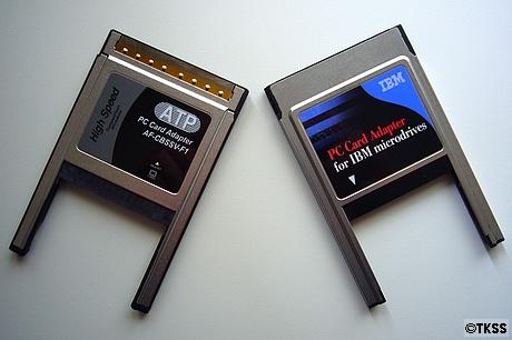 PCカードアダプター