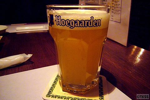 ヒューガルデン・ホワイト樽生 Hoegaarden Witbier